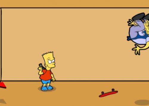 Bart Simpson Saw Game 2