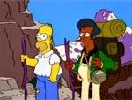 Homero y Apu