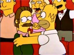 Homero ama a Flanders