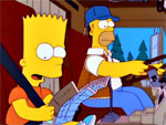 Homero trabaja demasiado