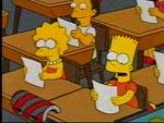 Bart contra Lisa contra el tercer año