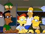 Homero va a la universidad
