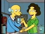 El Sr. Burns se enamora