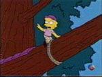 Lisa y su amor por los árboles