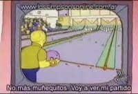 La tele de Los Simpsons