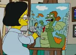 Lisa la reina del drama