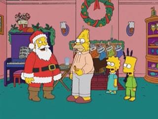 Historia de Navidad de Los Simpsons